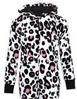 Girls onesie leopard ex store M&S age 5 6 7 8 9 10 11 12 years nightwear pyjama