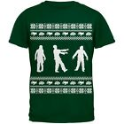 Zombie Ugly Christmas Sweater Green Youth T-Shirt Top