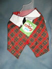 Petco - Crazy About Pets Christmas Holiday Dog Party Vest - You Choose Size NWT