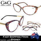 Ladies Cat Eye Magnify Reading Glasses Floral Print 2015 New Arrival +1.0 ~+ 3.5