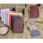 Women's Candy Color Business ID Credit Card Holder Organizer Purse Handbag Case