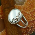 STERLING SILVER RING NO STONE SOLID.925 /NEW JEWELERY  SIZE SELECTABLE  J - U