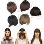 Greatest Clip On Clip In Front Hair Bang Fringe Hair Extension Salon Finest AAA+