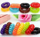 Lots 10 pcs Elastic Rubber Fashion Hairband Hair Tie Rope Band Ponytail Holder