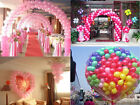 "100Pcs 10"" Pearl Latex Balloon Colors Ceremony Wedding Birthday Party Decorate"