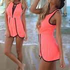 Hot Sale Europe Watermelon sexy loose Suit Fashion shorts Beach Sets