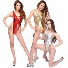 NEW Women One Piece Yoga Bodysuit Thong Leotard Xmas Swimsuit Swimwear Beachwear