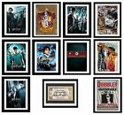 HARRY POTTER - Framed Posters/Prints - 2 SIZES (Fully Licensed/Official Artwork)