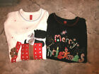 Womens or Girls Christmas Sweater Holiday - Medium 8 - 10 -  You Choose Design