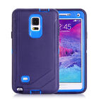 For Samsung Galaxy Note 4 Defender ShockProof Waterproof Case Cover W/Belt Clip