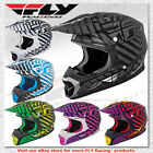 Fly Racing Three.4 Sonar Offroad Motocross MX Helmet