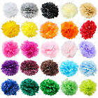 "6 PC Paper Tissue Pom Poms 8"" 10"" 12"" 14"" 16"" Flower Wedding Party Pack piece"