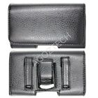 PREMIUM Quality Leather Sideways Clip Case Pouch Holster for BLU Cell Phones NEW