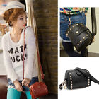 shoulder bag casual bag small leather camera phone rivets handbags