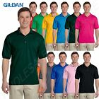 NEW Gildan Men's DryBlend Moisture Wicking Jersey BIG Polo Shirt 2XL-5XL BG880