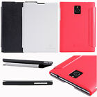 Nillkin PU Leather Flip Frosted Matte Hard Case Cover For BlackBerry Passport