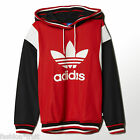Adidas Originals Archive Hoodie Red Logo Hooded Sweatshirt New Sizes XS S M L