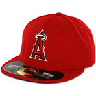 Los Angeles Anaheim ANGELS GAME Home New Era 59FIFTY Fitted Caps MLB OnField Hat