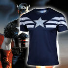 Men Casual DC Marvel Comics Superhero Avengers T-Shirt Costume Jerseys Tee Top