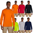 Gildan Men's Ultra Heavy Cotton 6 oz Long Sleeve S-5XL Pocket T-Shirt MG241