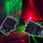 1Pc High Bright 532nm Green Red LED Laser Stage Gloves Light Dance DJ Show Beam