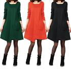 Fashion Women's Boho Hippie Long Plus Tops T-Shirt Blouse Loose Short Mini Dress