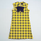 Yellow Print Dress Size 5 By Llum SPRING SUMMER LAST ONE $52 NWT