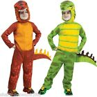 Boys Dinosaur T-Rex Halloween Book Day Animal Onesie Fancy Dress Costume Outfit