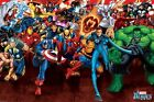 New Marvel Comics Attack! Marvel Heroes Poster