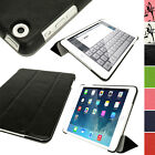 PU Leather Smart Cover Case for Apple iPad Mini 1st, 2nd Gen Retina & New Mini 3