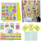 Baby Shower Mum to Be Fun GAME Party Bingo, Dare Cards, Pin Dummy on Baby GAMES