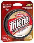 BERKLEY TRILENE XL 100% FLUOROCARBON FISHING LINE, 220 YDS, NEW, CHOICE OF SIZE