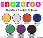 PROFESSIONAL18ml SNAZAROO SPARKLE or METALLIC FACE & BODY PAINT MAKE UP COLOURS