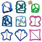Kids Lunch Sandwich Cake Bread Toast Cookies Biscuit Food Cutter DIY Mold Mould