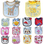 Baby Boy Girl Newborn Bibs Waterproof Saliva Towel Burp Cloth Feeding Bandana