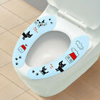 2X Bathroom Warmer Removable Soft Toilet Closestool Washable Seat Cover Sticker