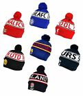 Official Football Club - STRICKMÜTZE (Text Manschette) Ski-Beanie