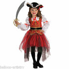 Girls Princess of the Seas Pirate Fancy Dress Party Halloween Costume