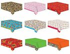 CHARACTER PLASTIC TABLECOVERS 138x183cm -Large Range{Gemma}(Kids/Birthday/Party)