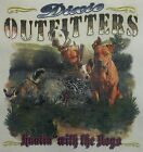 DIXIE OUTFITTERS BOAR HUNTING WITH THE BOYS HOG REBEL REDNECK SHIRT #7046