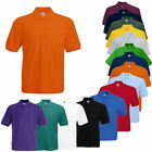 Fruit of the Loom 65/35 PIQUE Herren Polo Shirt  Größe  S - 5XL