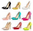 Ladies Sexy Pointed Toe Stiletto High Heel Party Pumps Court Shoes US 2-9