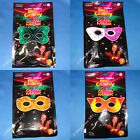 GLOW IN THE DARK LIGHT STICK MASK MASQUERADE PARTY BALL VENETIAN EYE FANCY DRESS