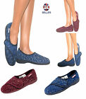 Ladies Slippers Womens Dunlop Washable Orthopedic Velcro Ankle Boots Shoes Size