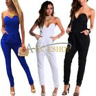 Women Hot Bandage Bodycon Sexy Clubwear Romper Jumpsuit Dress Party V Neck Pants