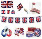 GREAT BRITAIN (Union Jack) Partyware/Decorations/Balloons (UJ){fixed £1 p&p}