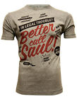 *UK Fit Breaking Bad Inspired Better Call Saul Men's Grey T-shirt