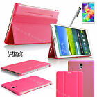 Smart Folio Ultra Slim Case Stand Cover for Samsung Galaxy Tab 4 & Tab S Tablet