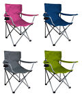 Ozark Trail Folding Chair Colors Outdoor Party Picnic Cup Holder Camp Lawn Yard