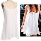 Women Tops Sexy Strap Party Top Club Tops Clubwear Loose Mini Dress Blouse Shirt